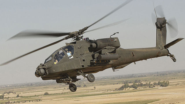 JBLM soldier shoots helicopter during training excercise