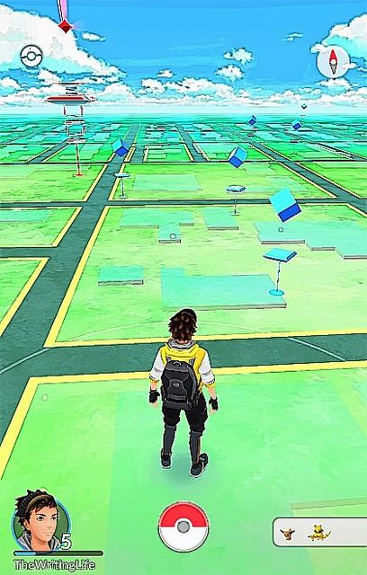 Excercise, socialize and hunt Pokemon