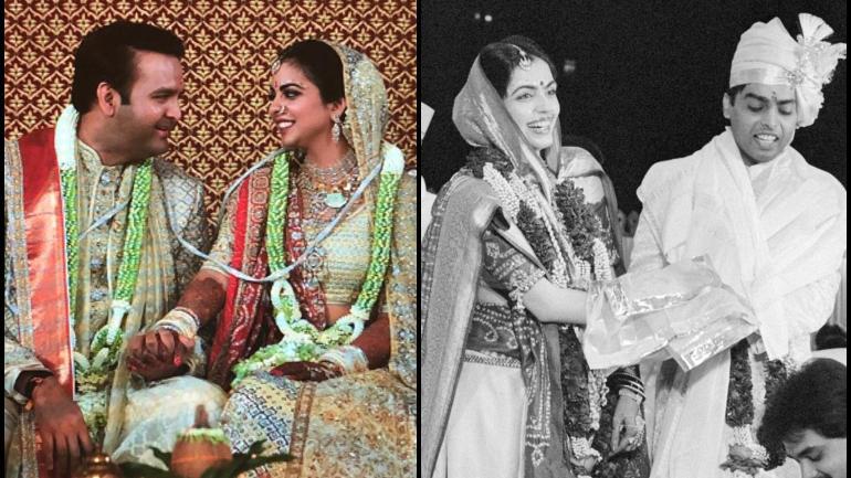 Isha and Anand bring back Mukesh Ambani and Nita wedding ...